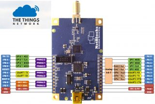 sx1272 LoRa thethingsnetwork